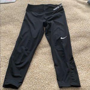 Nike Pro Black Leggings in Medium